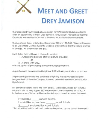 Baseball Meet & Greet