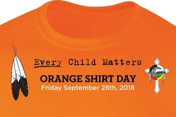 Orange Shirt Day - September 27th