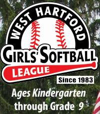 West Hartford Girls' Softball Registration
