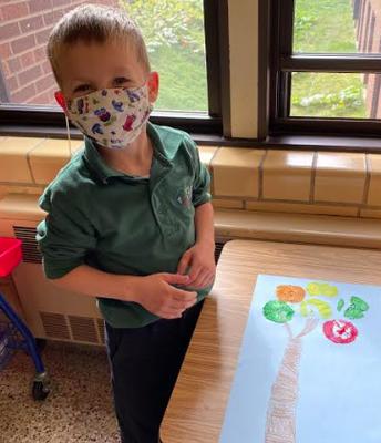 Apple Time in Kindergarten