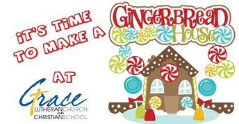GINGERBREAD HOUSES AT GRACE ~ DECEMBER 1ST