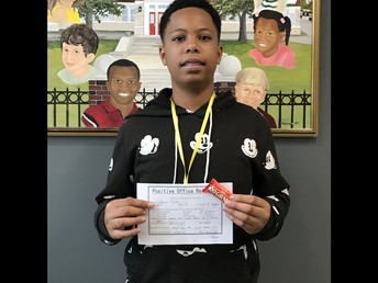 Jakyron earned a positive referral for being a positive peer.