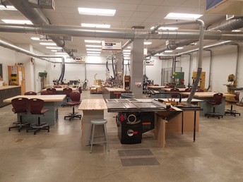Wood Shop Production Room