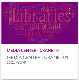 Select the Media Center Course in Canvas