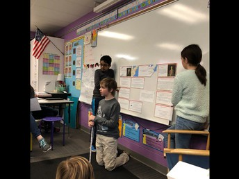 Koen presents about George Washington