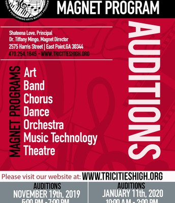TCHS VPA MAGNET AUDITIONS