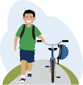 National Walk/Ride Your Bike to School Day
