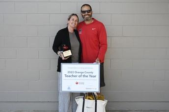 Orange County Teacher of the Year: Mrs. Shine!