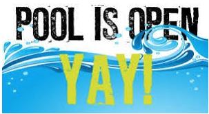 Pool Opens for the 2020 Swim Season