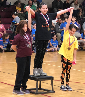 Congratulations to Violet Sliwinski for taking first place in the Stick Pull!