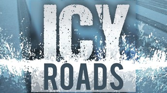 Icy road conditions