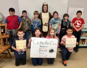 Picture of 4th grade - Coins for Care Winners