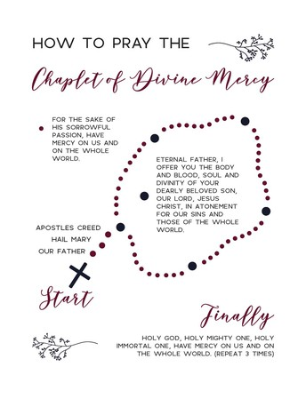 DIVINE MERCY CHAPLET APRIL 29