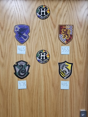 House Cup Updated Scores