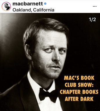Mac Barnett is reading his books live on Instagram!