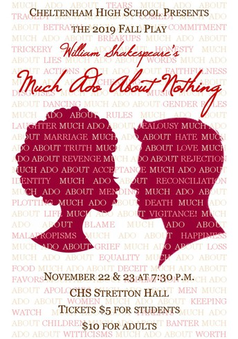 "High School Stages Shakespeare's ""Much Ado About Nothing"""