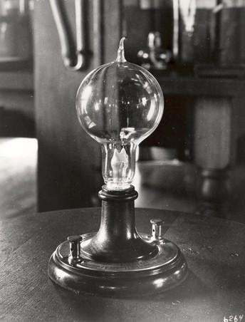 Thomas Edison Lights the Lamp