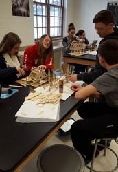 Students Building Bridges to Success in STEM