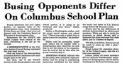 Desegregation of Columbus