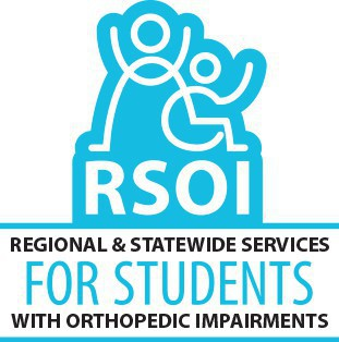 Logo for RSOI, Regional and Statewide Services for Students with Orthopedic Impairments