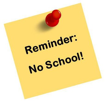 No School Friday, April 30th