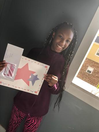 Congrats to  Adriana!