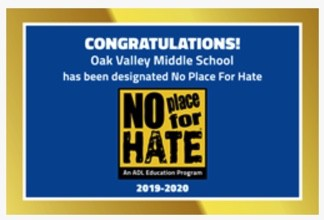 "Apply For the ""No Place For Hate"" Student Committee"