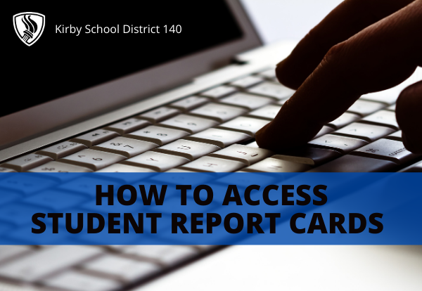 directions for accessing student report cards