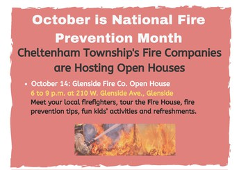 Cheltenham Fire Company Open House