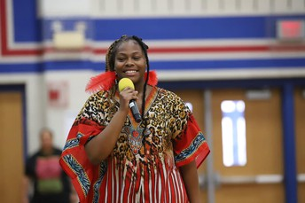 Student performances celebrating their heritage