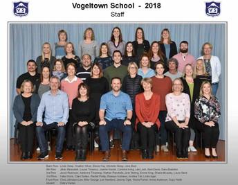 VOGELTOWN STAFF ORGANISATION 2019
