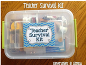 Earn a Teacher's Survival Kit and a Jeans Pass!