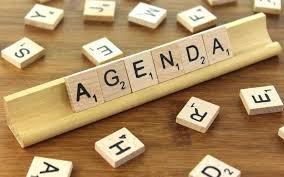 Staff Meeting Agenda