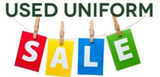 Used Uniform Sale Wednesday, November 7th