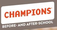 Champions Kindergarten Enrichment Registration