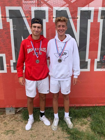 Eagle Doubles Team State Bound!