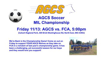 Soccer Team to play in MIL Championship Game