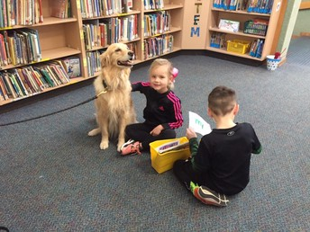 Library Dog Visits