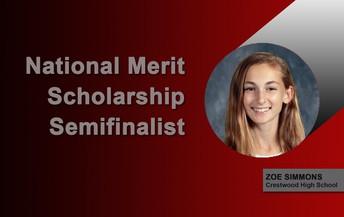 National Merit Scholarship Semi-Finalist