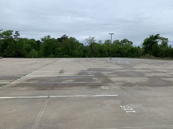 Vacant parking lots