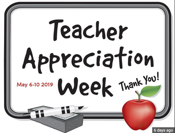 Thank You for an Awesome Teacher and Staff Appreciation Week!