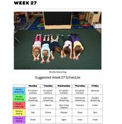 Mindful Classrooms--Week 27
