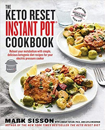 The Keto Reset Instant Pot cookbook