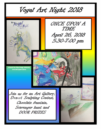 Art Night - April 26 - 5:30-7:00pm