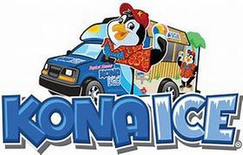Kona Ice will be here on Friday, August 30th.