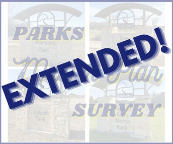 Parks Master Plan Survey deadline extended; last day to complete survey is today!