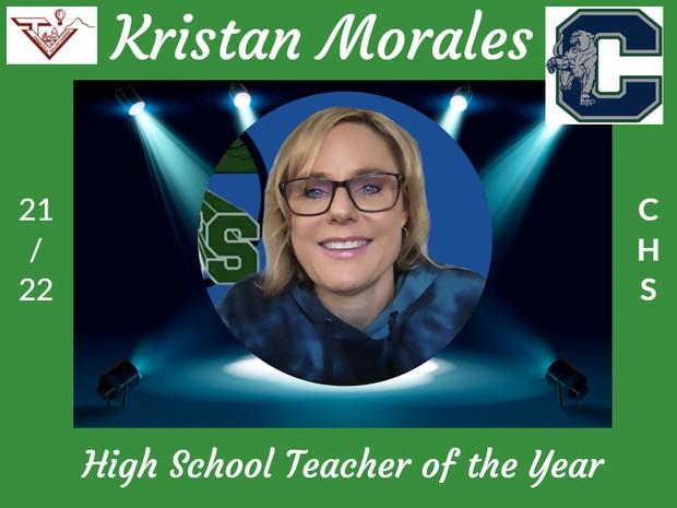 Kristan Morales, Chaparral High School