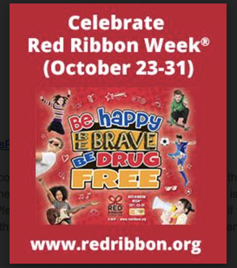 Virtual PTSA Red Ribbon Week