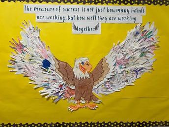 Eagles working together!