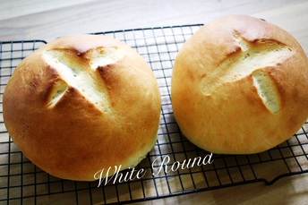 White Round Bread (perfect for sharing with your family and guests!)